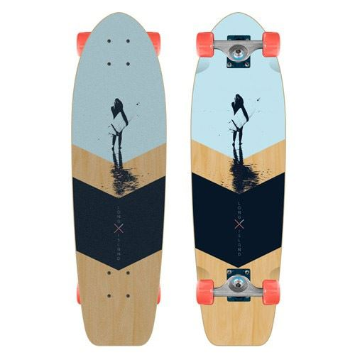 Cruiser LONG ISLAND Skateboard Mystic Cruiser