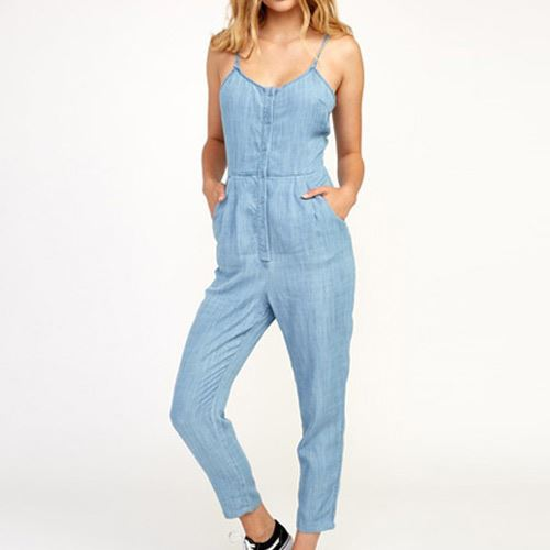Combinaison Femme Flasher Chambray RVCA