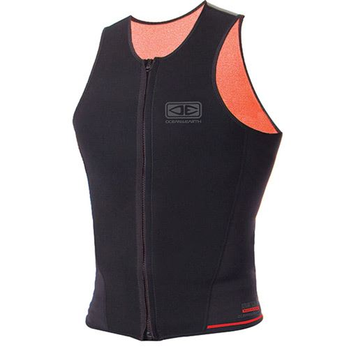 Top neoprene Mens OCEAN & EARTH Paddle Sleeveless Vest 1/5mm