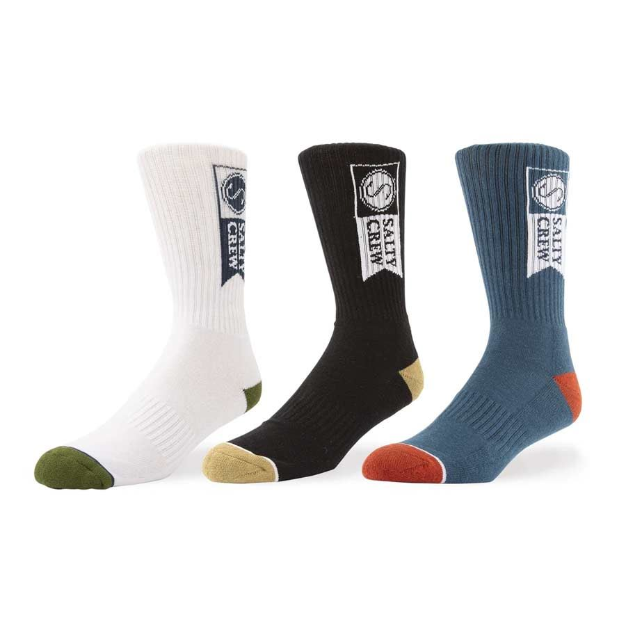 Chaussettes Salty Crew Alpha Sock 3 Pk Multi