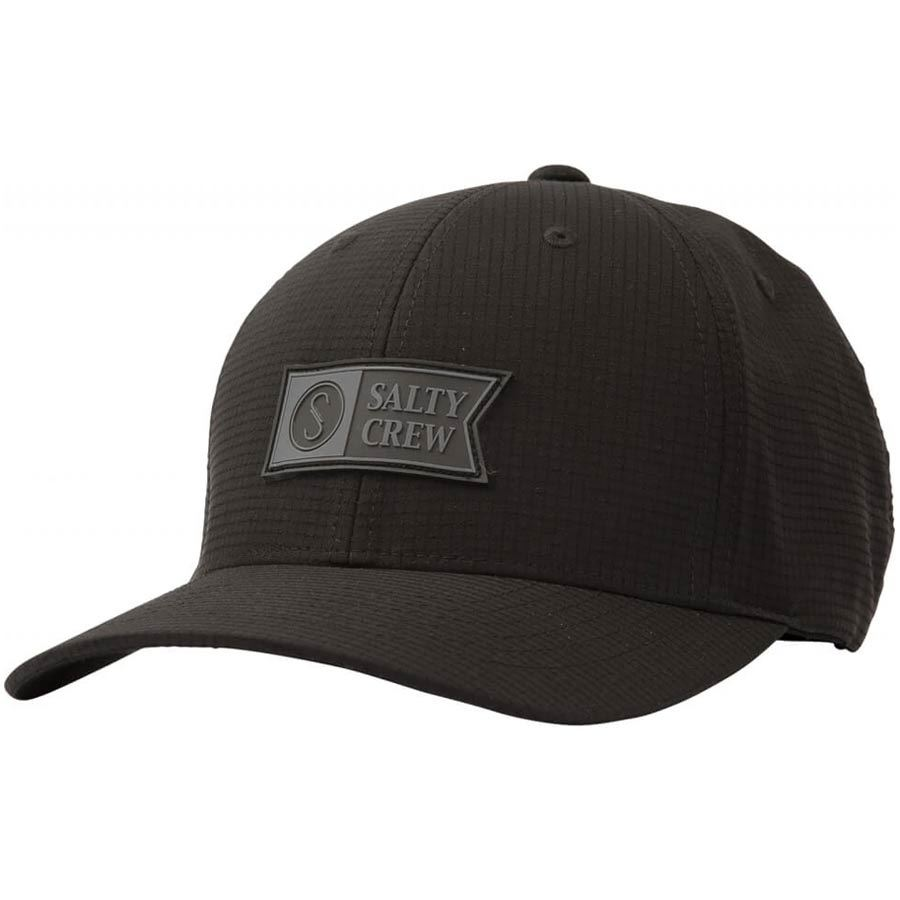 Casquette Salty Crew Alpha Tech 6 Panel Black
