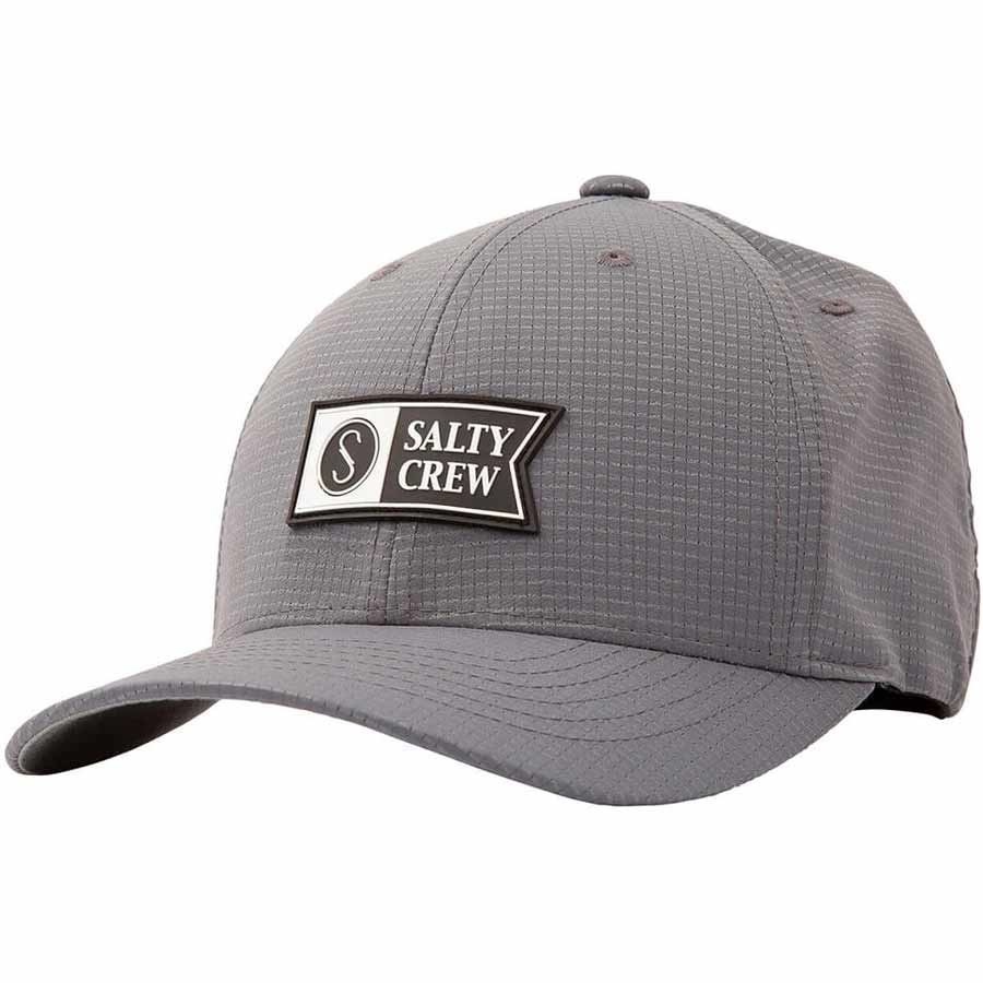 Casquette Salty Crew Alpha Tech 6 Panel Grey