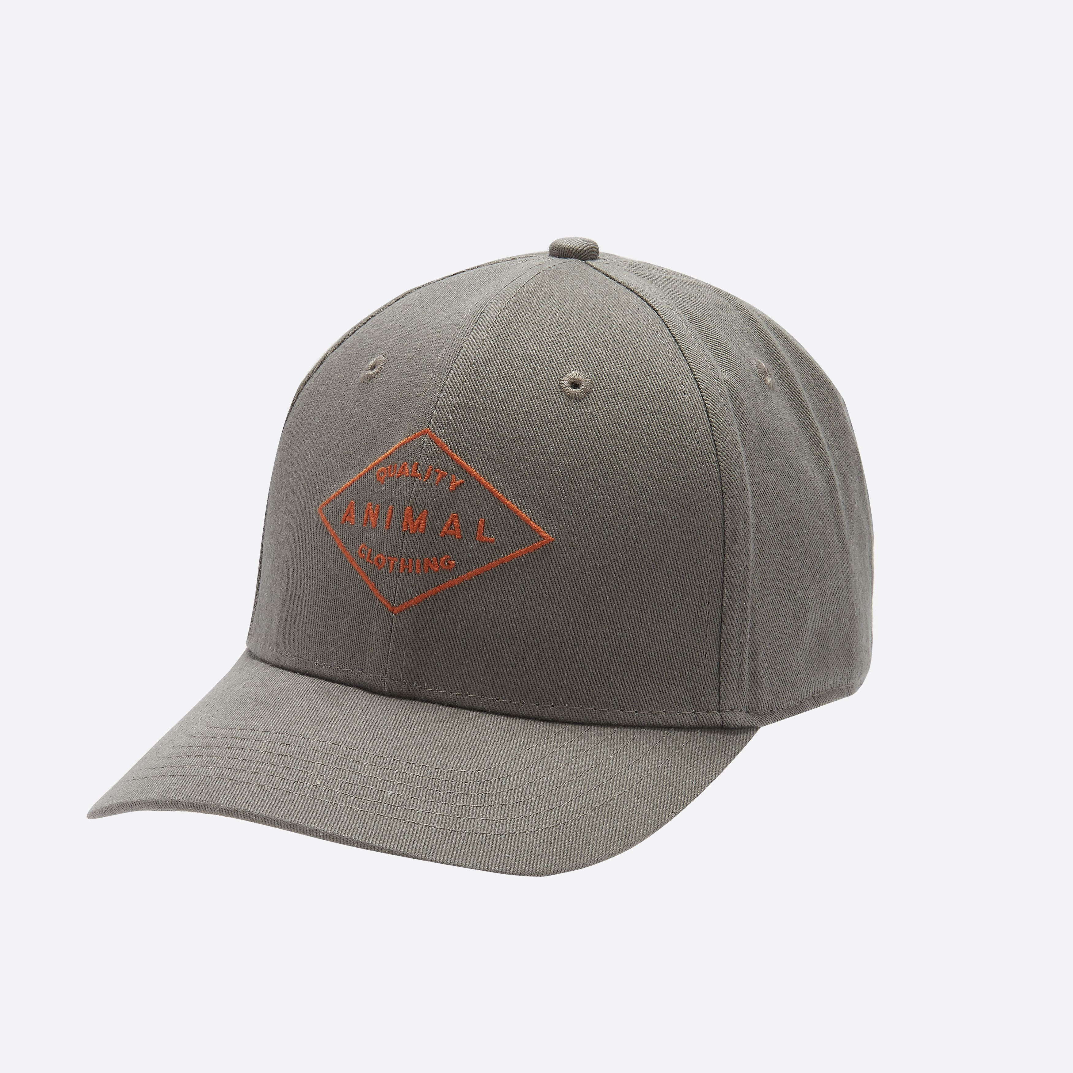 Casquette ANIMAL Revert Cap Plum Grey