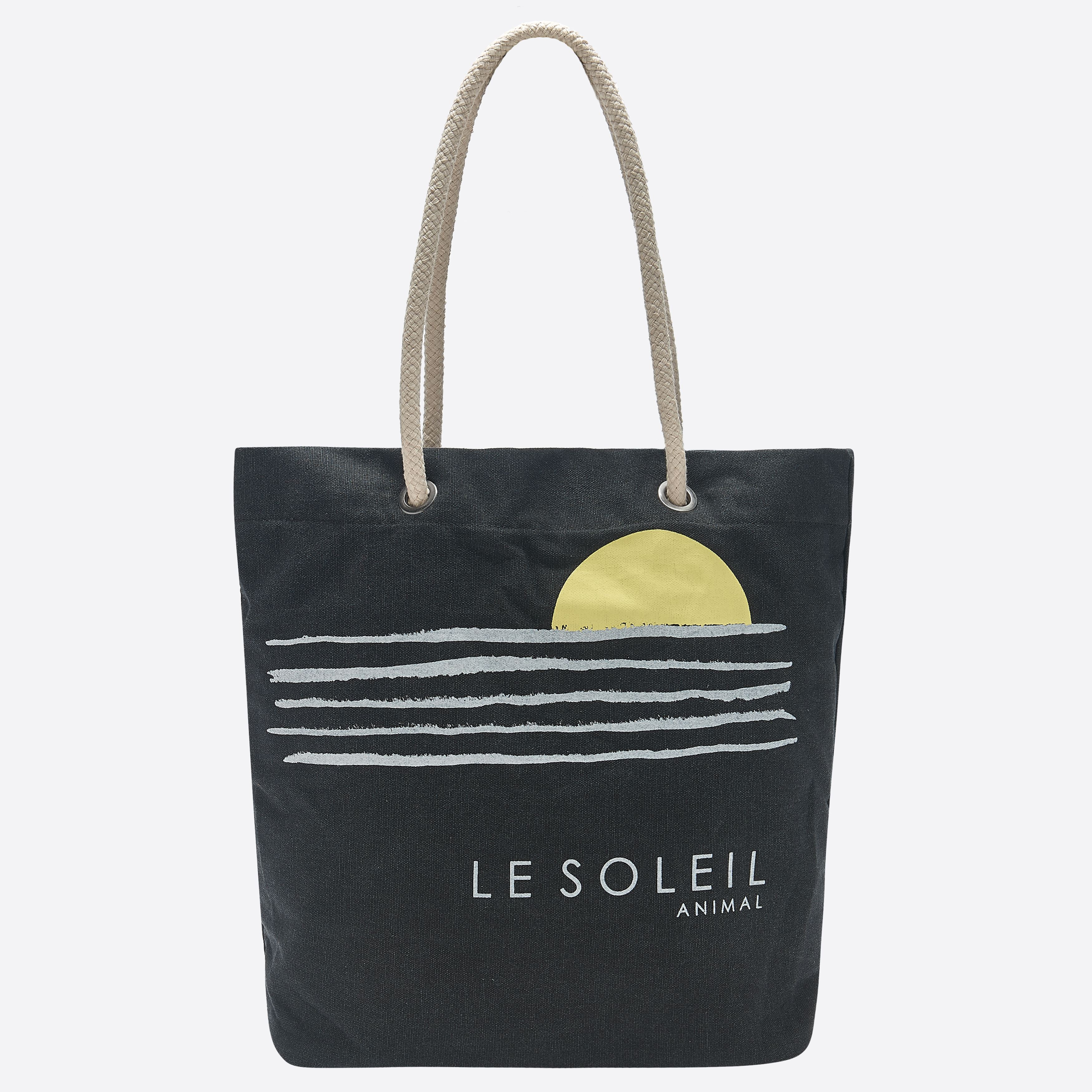 Sac de plage ANIMAL Beachin Bag Black