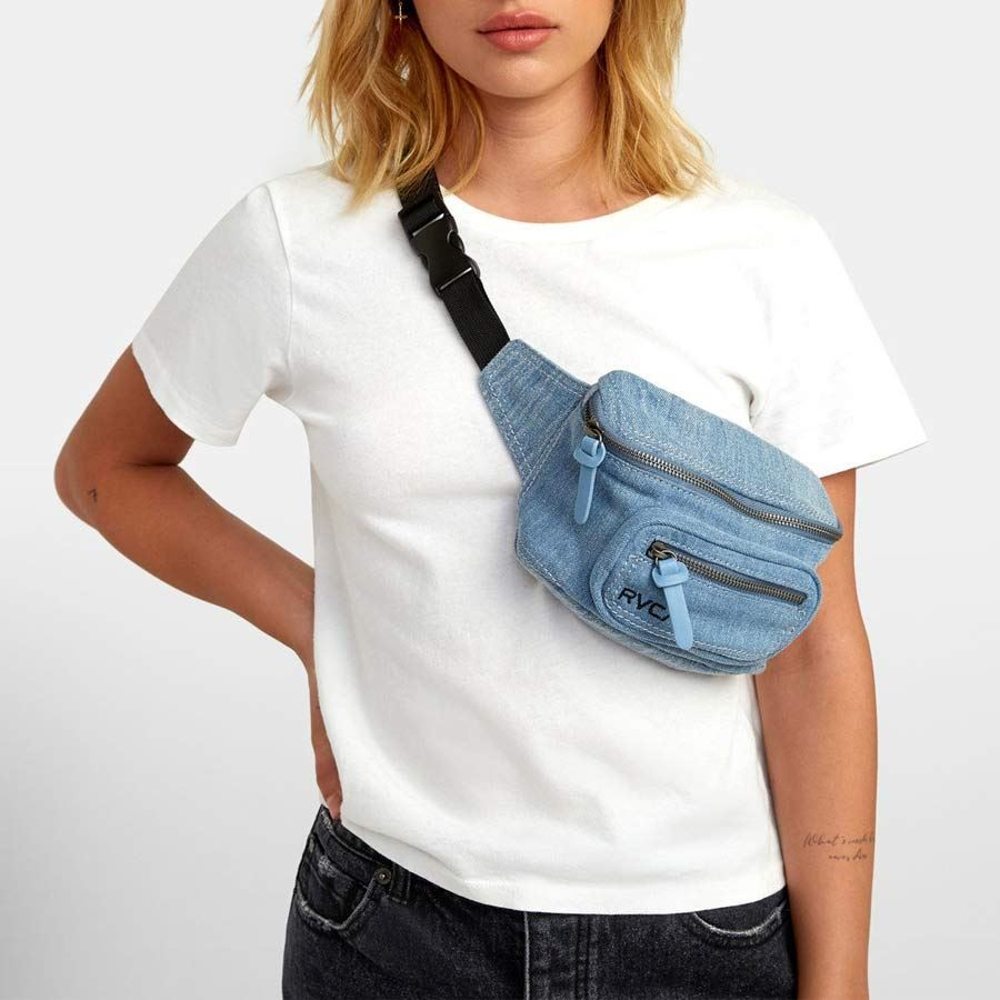 Banane RVCA femme Recruit Bum Bag en Jean