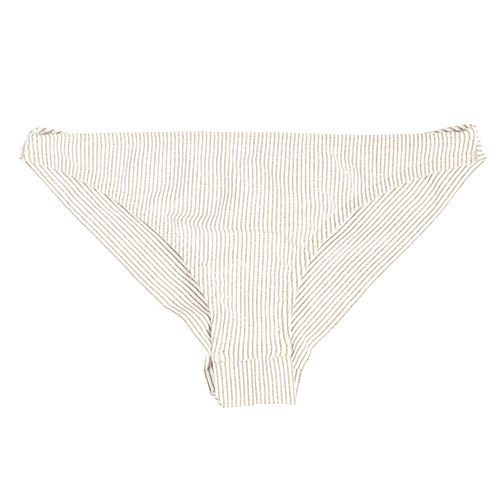 Bas bikini PUKAS Acacia Cheeky Bottom White Stripes