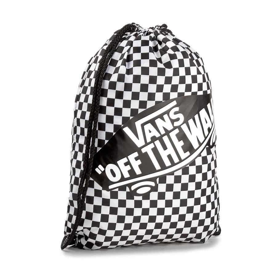 Sac VANS femme Benched Bag Black & White Checkerboard