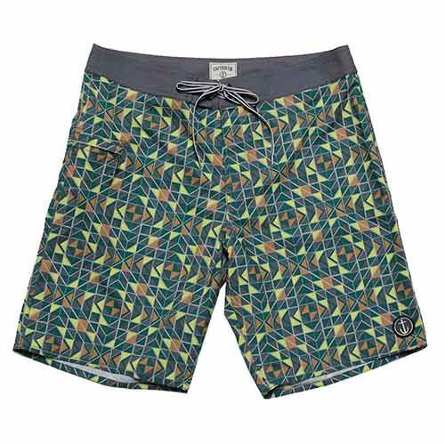 Boardshort CAPTAIN FIN Labrynth Multi