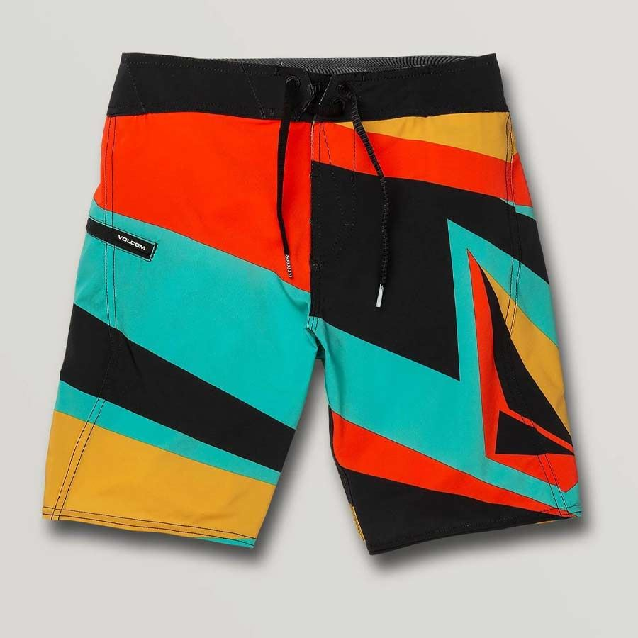 Boardshort Enfant VOLCOM Ransacked Mod Black