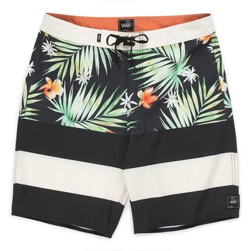 Boardshort VANS Era Black Decay Palm