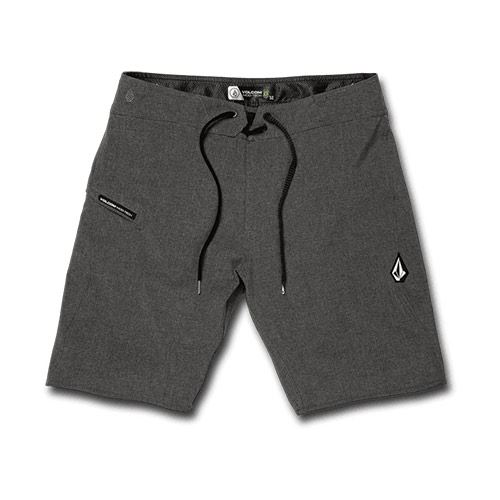 "Boardshort VOLCOM Lido Static Mod 20"" Charcoal Heather"