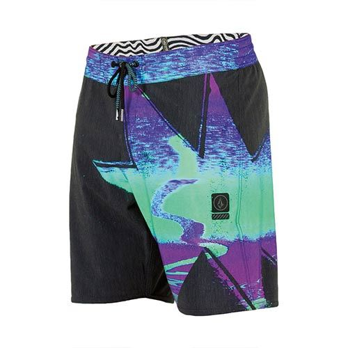"Boardshort VOLCOM Magxplotion Stoney 19"" Aqua"