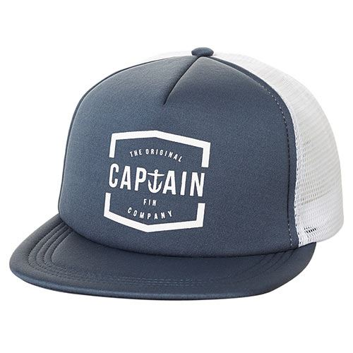 Casquette CAPTAIN FIN Lynard Trucker Harbour Blue