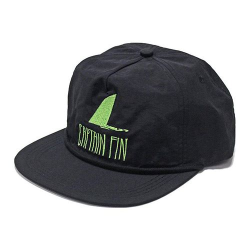 Casquette CAPTAIN FIN Shark Fin Black/Green