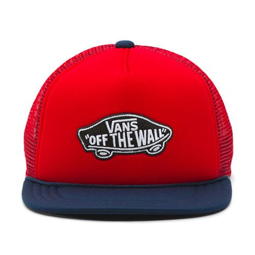 Casquette Junior VANS Classic Patch Trucker Racing Red Dress Blu