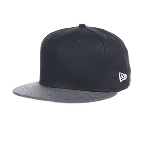 Casquette NEW ERA 9FIFTY Essential Fabric Mix Gorra Negro