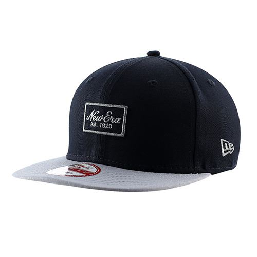 Casquette NEW ERA 9FIFTY Patched Prime Navy Gray