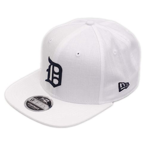 Casquette NEW ERA 9FIFTY Detroit Tigers Blanc-Noir