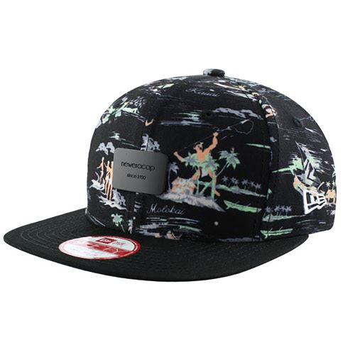 Casquette NEW ERA 9FIFTY Offshore Crown Patch Black