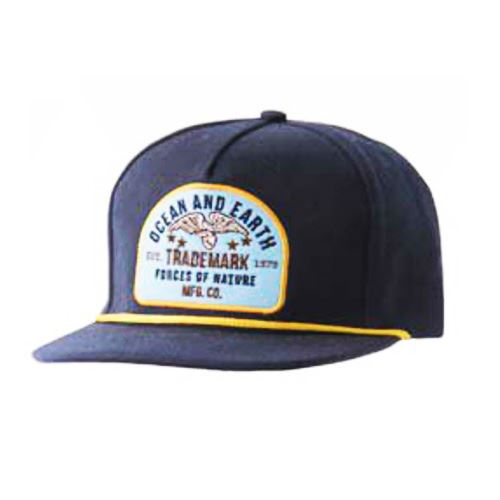 Casquette OCEAN & EARTH Forces of Nature Navy