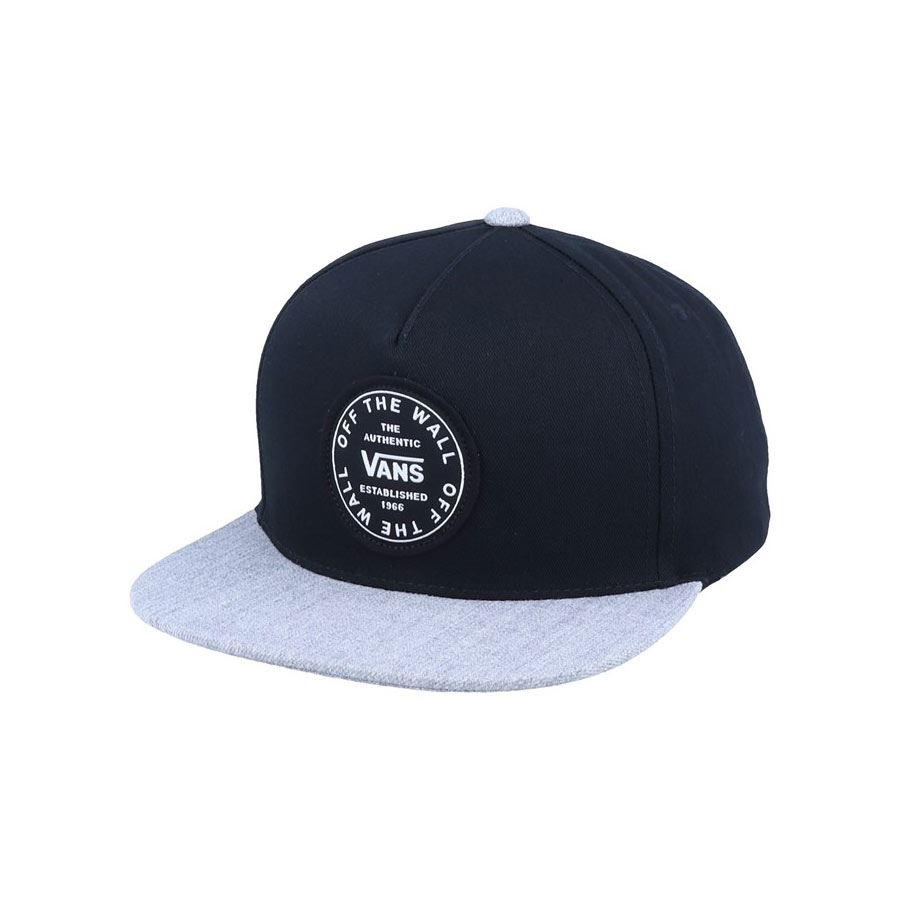 Casquette VANS Old Skool Circle Black Heather