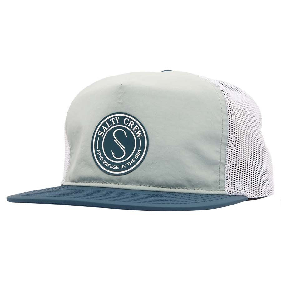Casquette Salty Crew Seaside 5 Panel Navy & Aqua