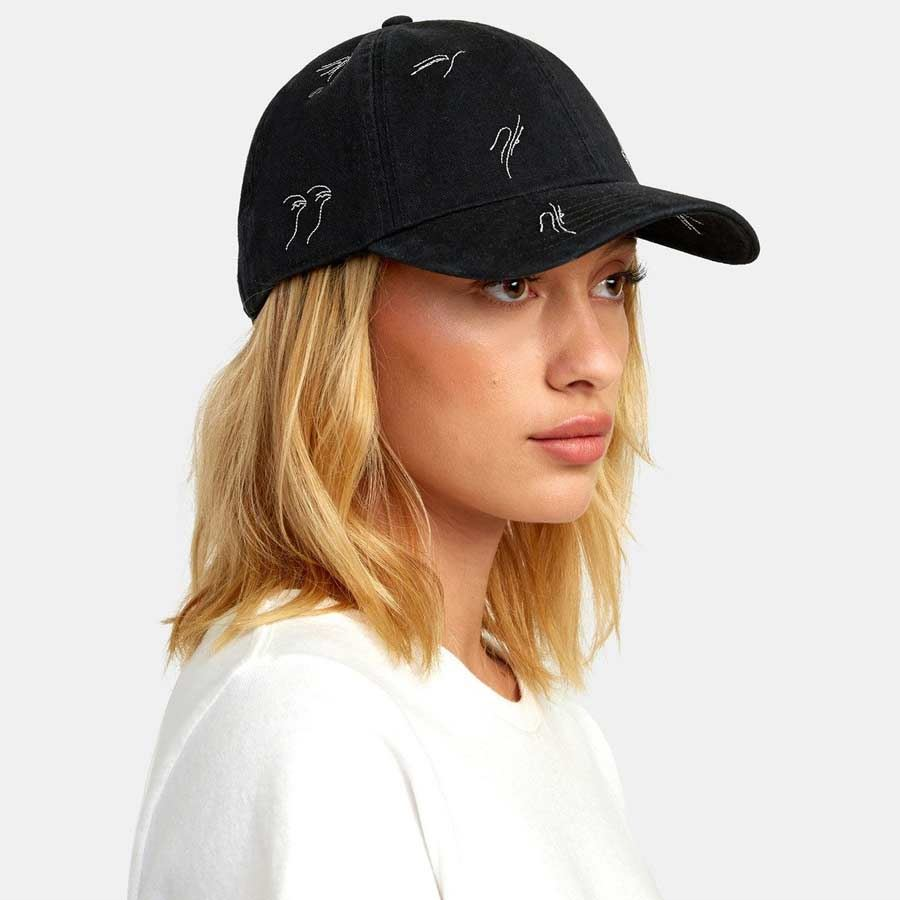 Casquette RVCA Femme Staple Dad Hat Black