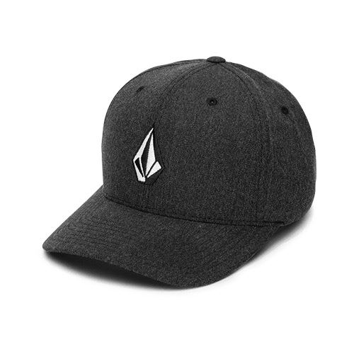 Casquette chinée VOLCOM Full Stone XFit Charcoal Heather