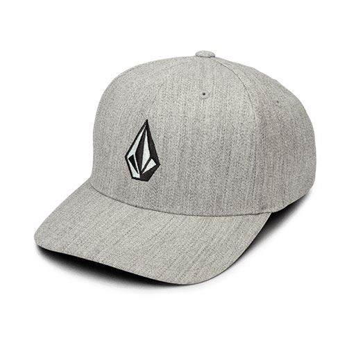Casquette chinée VOLCOM Full Stone XFit Grey Vintage