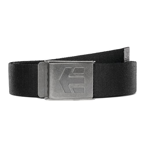 Ceinture ETNIES Staplez Belt Black Grey