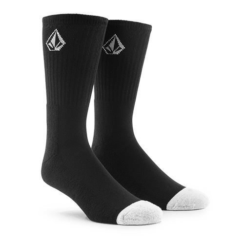 Chaussettes VOLCOM Full Stone Sock Black x3 Pack