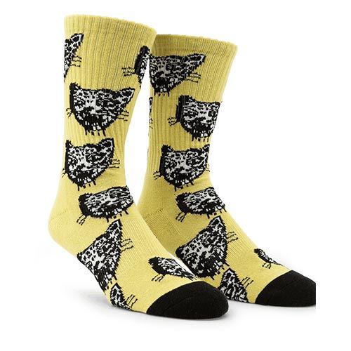 Chaussettes VOLCOM Ozzie Sock Lime