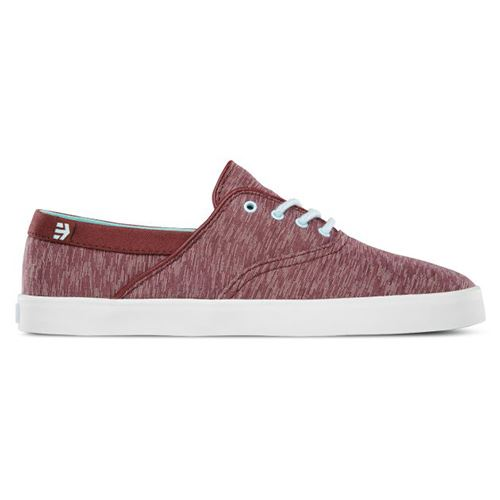 Chaussures ETNIES Corby Womens Burgundy