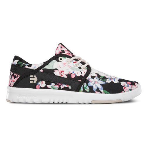 Chaussures ETNIES Scout Womens Black Floral