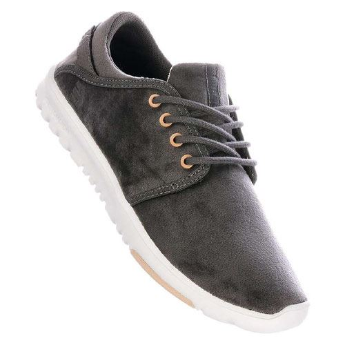 Chaussures ETNIES Scouts WS Femme Gold Grey White