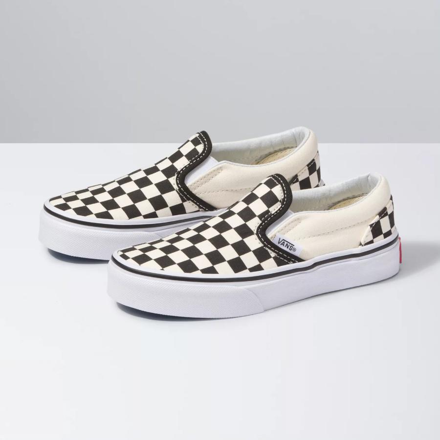 Chaussures Classic Slip On VANS Kids Checkerboard