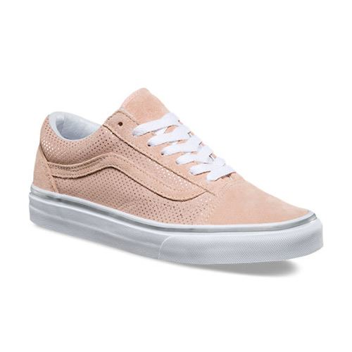 Chaussures VANS Metallic Dots Old Skool Rose Spanish Villa