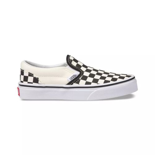Chaussures Enfant VANS Slip-On Checkerboard Black White