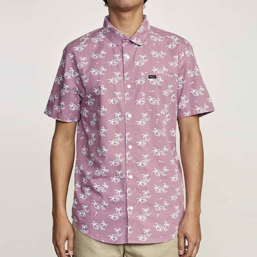 Chemise RVCA Easy Palm Pink