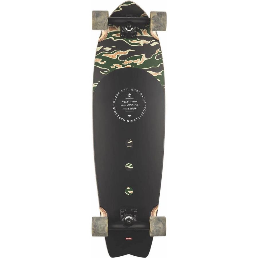 Cruiser GLOBE Chromantic Tiger Camo 33""