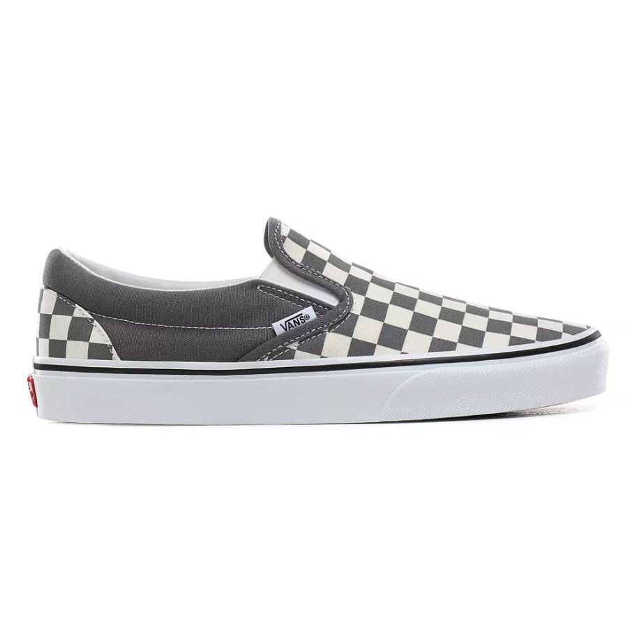 Chaussures VANS Classic Slip-On pewter/true white Checker Damier