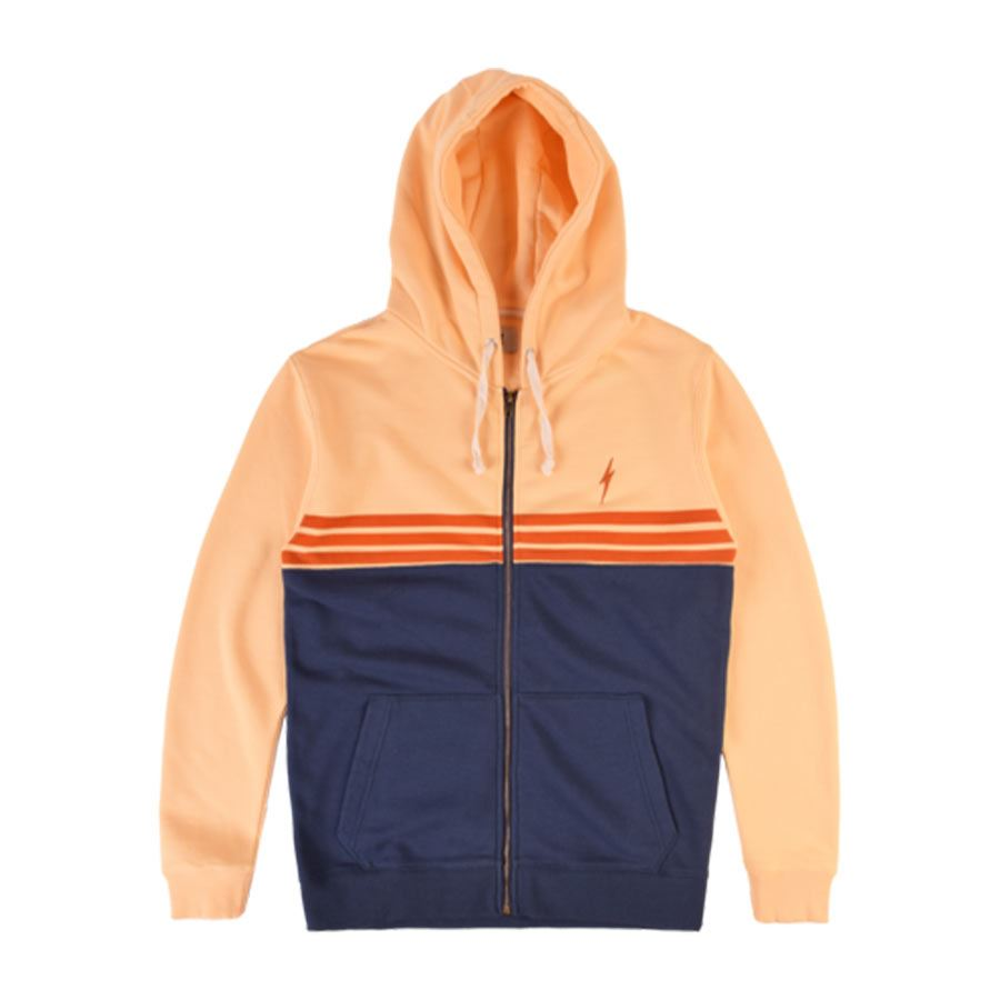 Sweat à capuche LIGHTING BOLT Color Block Fleece Zip Hoodie Dres
