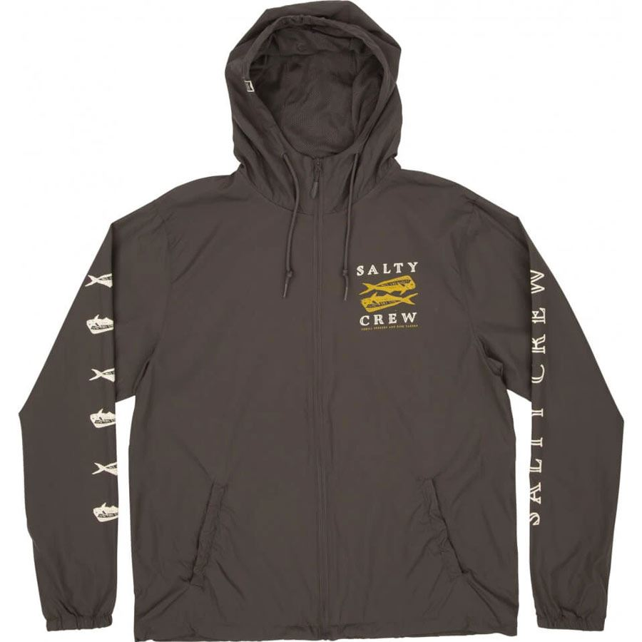 Veste coupe vent Salty Crew Double Up Wind Breaker Charcoal