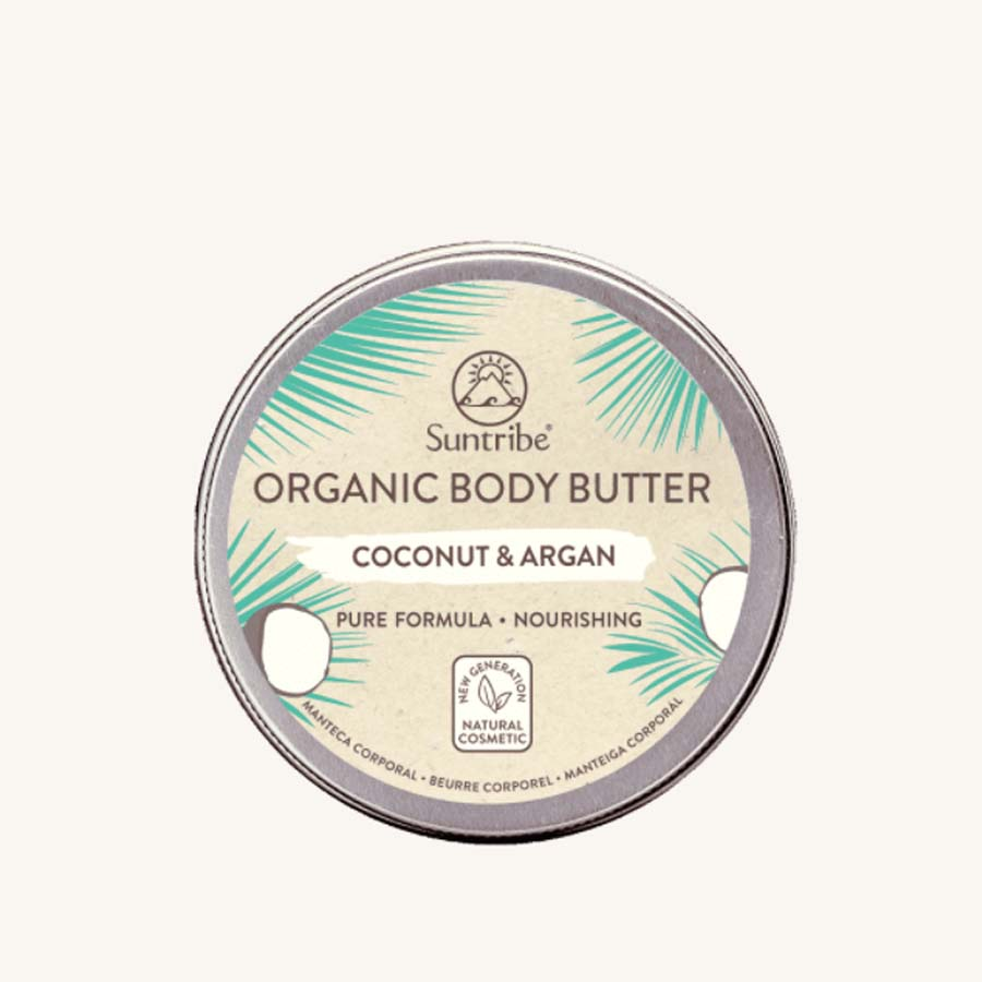 Crème SUNTRIBE All Natural Body Butter Coconut & Argan