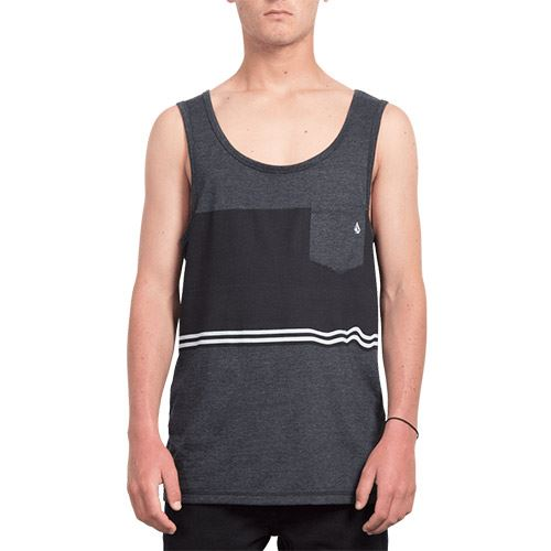 Débardeur VOLCOM 3 Quarter Tank Heather Black