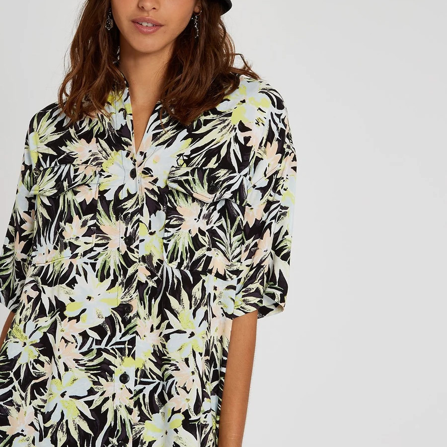 Chemise VOLCOM Femme Thats My Type Lime