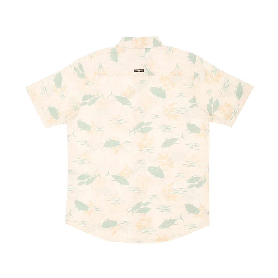 Chemise SALTY CREW Feeding Frenzy UV Woven Vintage White