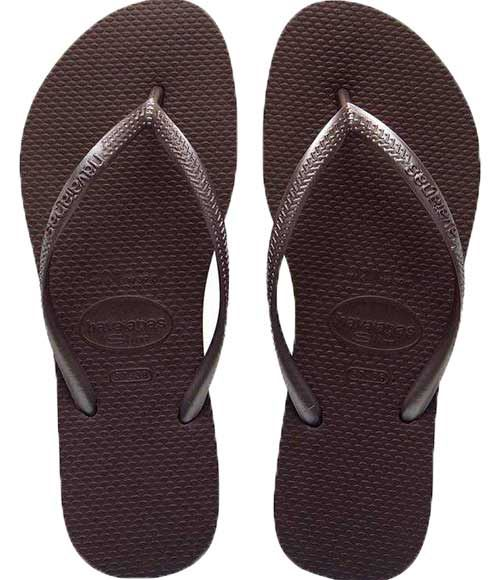 Tongs Havaianas Slim Dark Brown