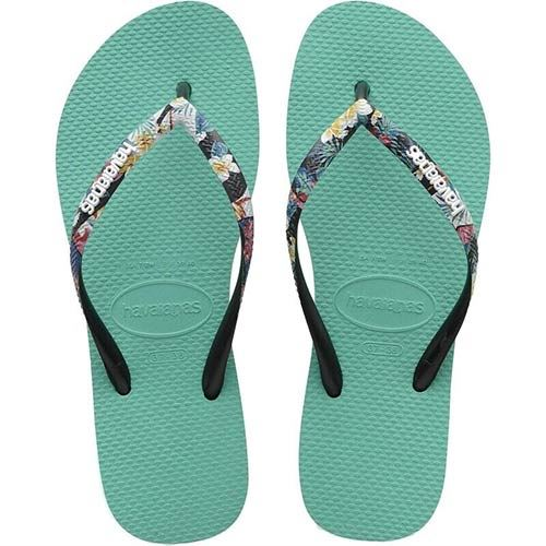 Tongs Havaianas Strapped Lake Green