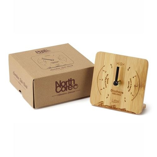 Horloge Marée NORTHCORE Bamboo Desk Top Tide Clock